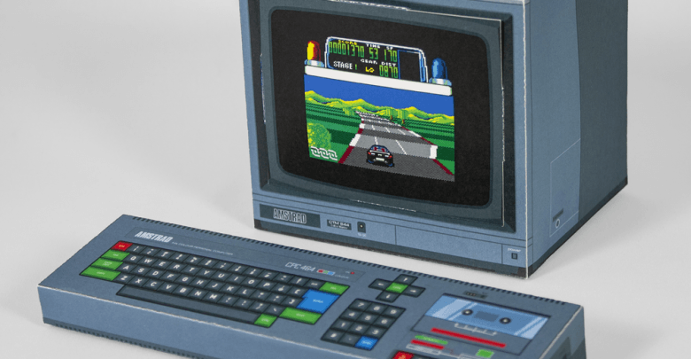 Amstrad CPC papercraft 1
