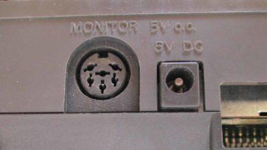 Cambio conector de vídeo en CPC 464 30