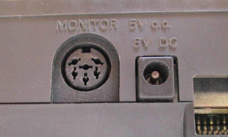 Cambio conector de vídeo en CPC 464 1