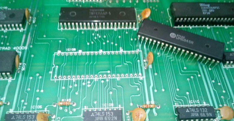 Reparación CPC 464 - No hay Vídeo - Fallo CRTC 1