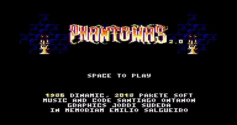 Phantomas 2, espectacular edición física 1