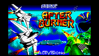 After Burner - Amstrad CPC longplay 24