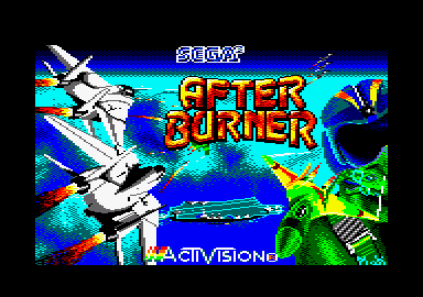 After Burner – Amstrad CPC Longplay