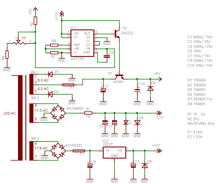 ZX Spectrum+3, reparación de la fuente alimentación 2