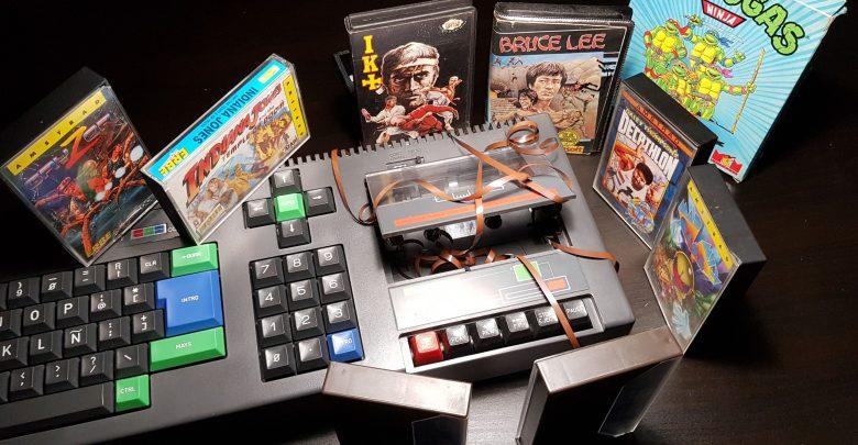 Jugando con el Amstrad en el 2020 - SOPORTES MASIVOS 1