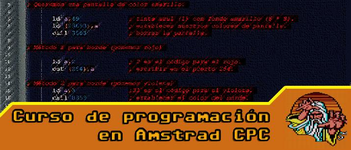 Curso Programación Amstrad CPC: El Entorno de Desarrollo 35