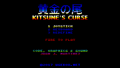 Photo of Kitsune's Curse , el próximo juego de Reidrac para CPC