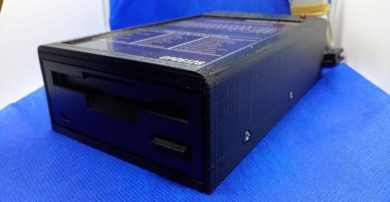 """Caja para disquetera de 3"""" impresión 3D 1"""