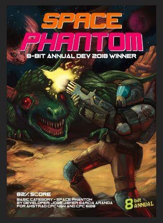 Space Phantom 8 bit annual 2018