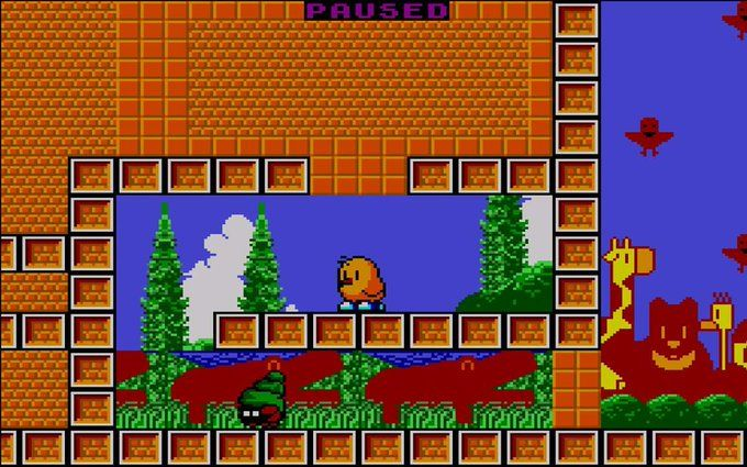 NewZealand Story [Remake] Amstrad CPC+ 5
