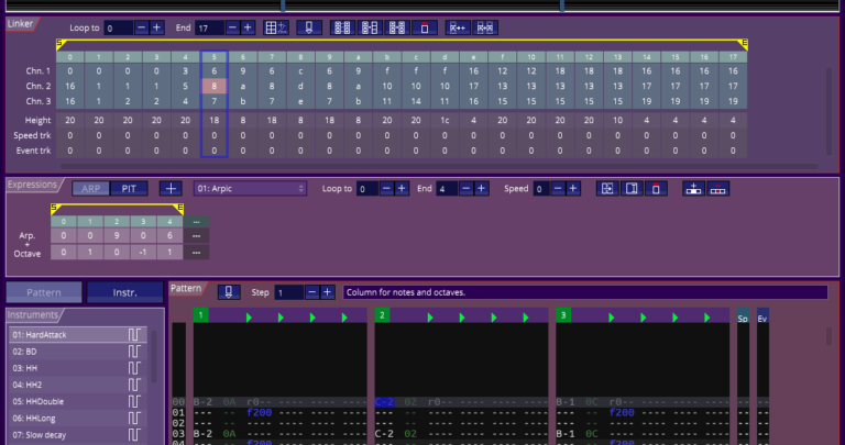 Publicado Arkos Tracker 2, 2.0.0 alpha 8 versión 1