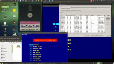 """Crea tu imagen dsk para disquete 3.5"""" para Amstrad CPC con menú de selección 99"""