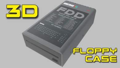 Caja para disquetera en impresión 3D 30