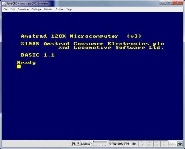 Guía de EMULADORES Amstrad CPC 7