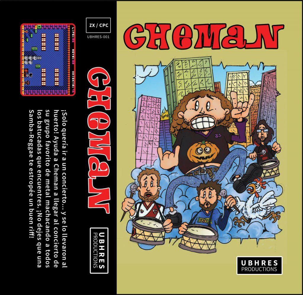 Che-man! Descubrimos lo nuevo de The Mojon Twins para CPC 4