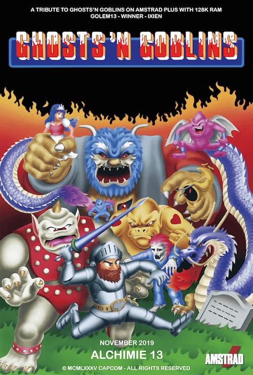 Ghosts'n'Goblins versión 6128+ nuevo juego de Golem13 [WIP] 2