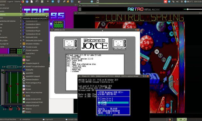 Guía de emuladores para AMSTRAD CPC, PCW y PC para GNU/Linux 1