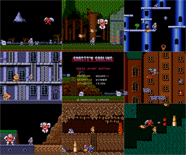 ghost&Goblins amstrad 6128+