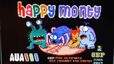 """""""Happy Monty"""", lo nuevo de 8 Bits de Poder 140"""