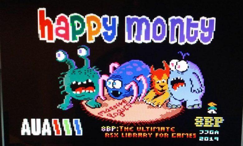 """""""Happy Monty"""", lo nuevo de 8 Bits de Poder 37"""