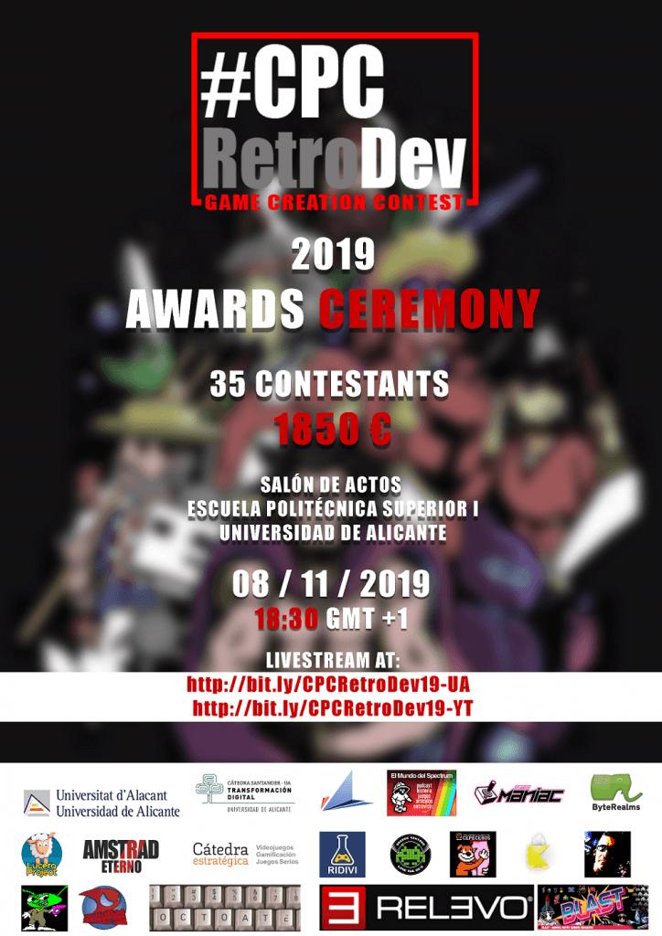CPCRetroDev 2019: Game Creation Contest 2