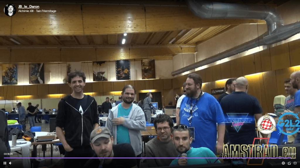 Alchimie XIII - novedades Amstrad CPC 3