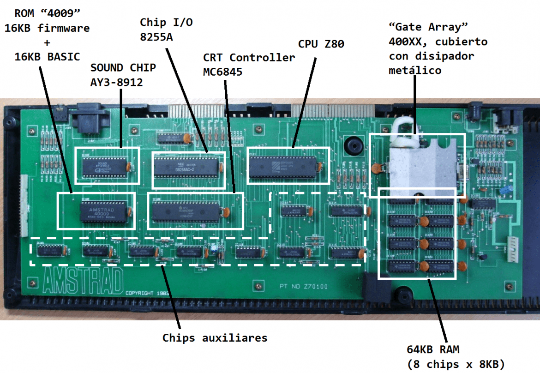 identificacion componentes CPC 464 8BP