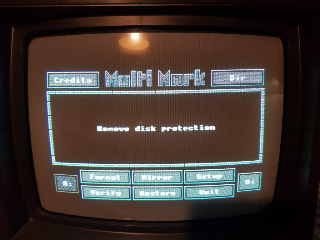 Reparación de disquetera: disc is write protected 2