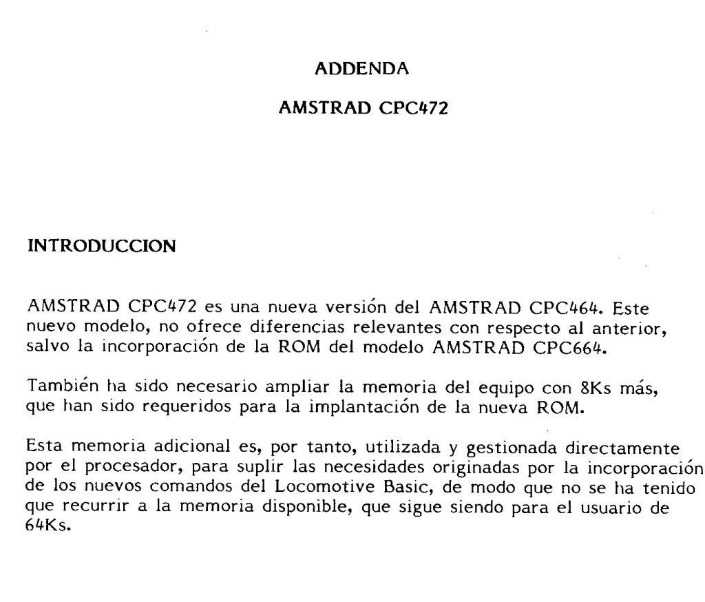 Amstrad CPC 472