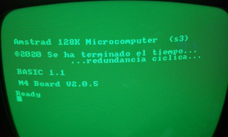 Efecto 2020: vigila tu Amstrad CPC 1