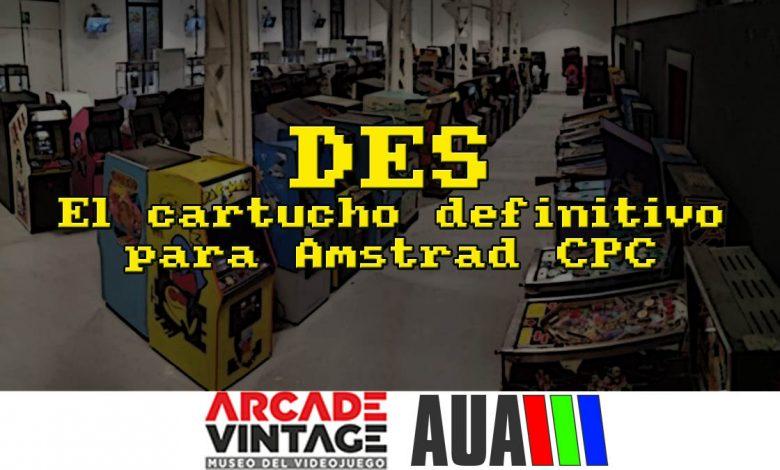 Photo of AUA en el Museo ARCADE VINTAGE ¿Conoces el DES?