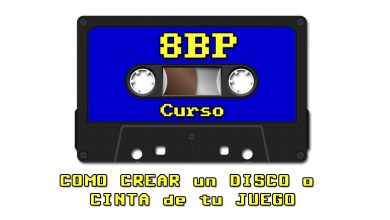 Photo of 8BP: CREAR un DISCO o CINTA de tu JUEGO