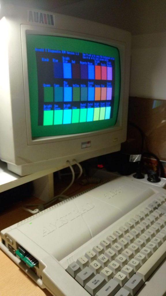 Cartucho de diagnóstico para Amstrad Plus 2