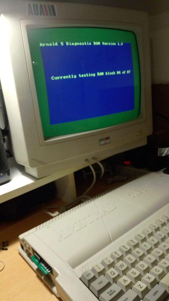 Cartucho de diagnóstico para Amstrad Plus 3