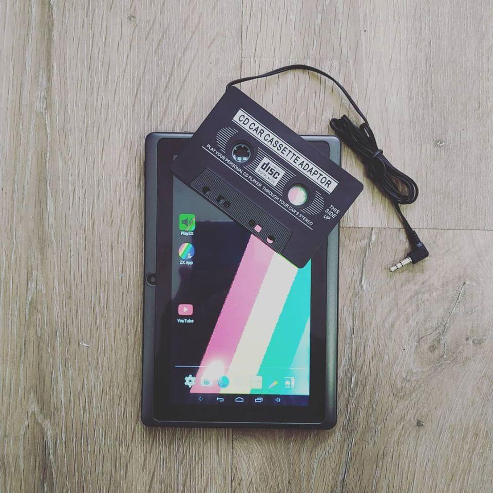 Cargar juegos desde android en un ZX Spectrum