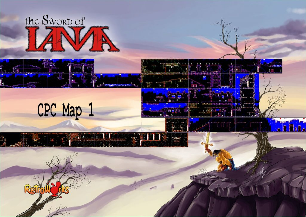 RetroWorks tiene listo The Sword Of IANNA para Amstrad CPC 2