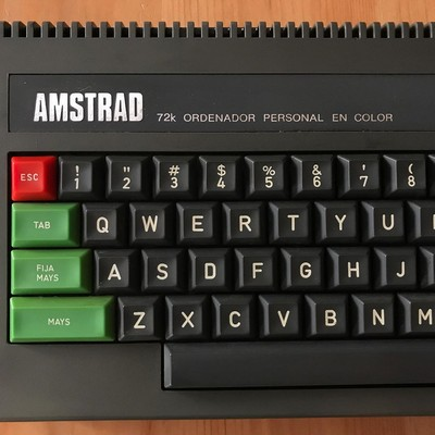 The Amstrad CPC 472, an unusual case 1