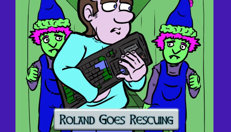 Photo of Roland Goes Rescuing – nuevo título para AMSTRAD CPC