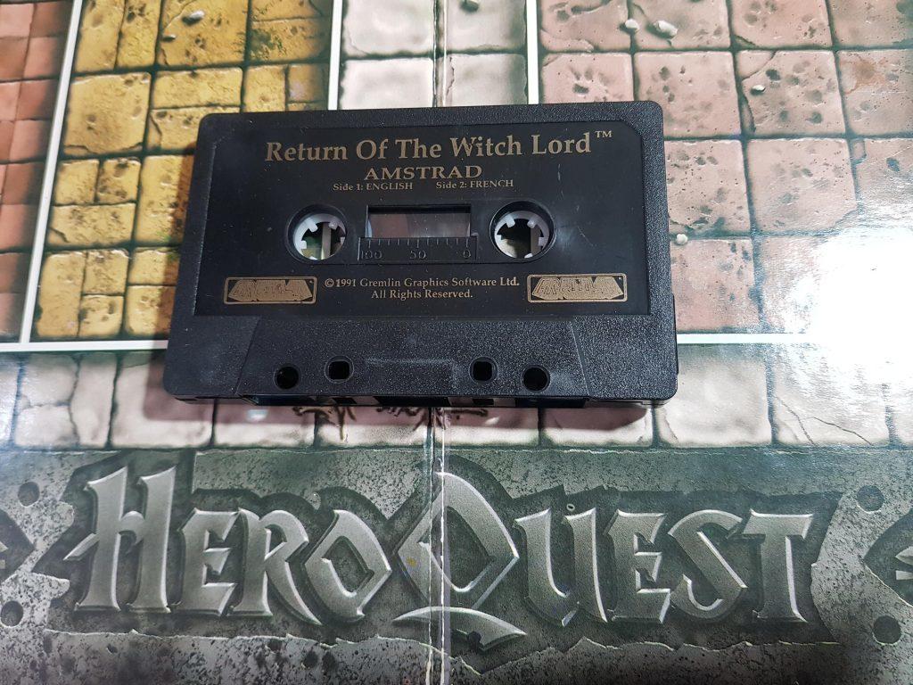 Hero Quest - Espada y brujería en Amstrad CPC 6