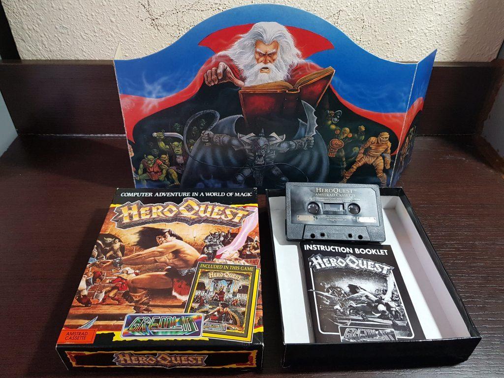 Hero Quest - Espada y brujería en Amstrad CPC 2