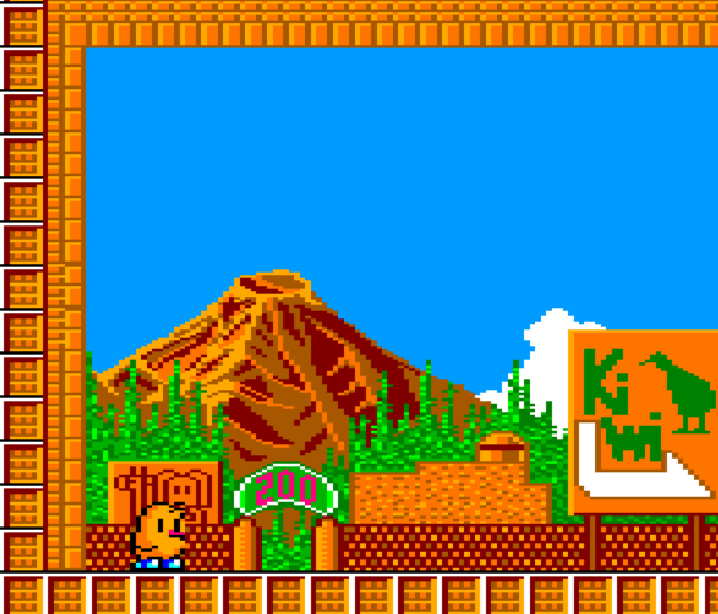 NewZealand Story [Remake] Amstrad CPC+ 8