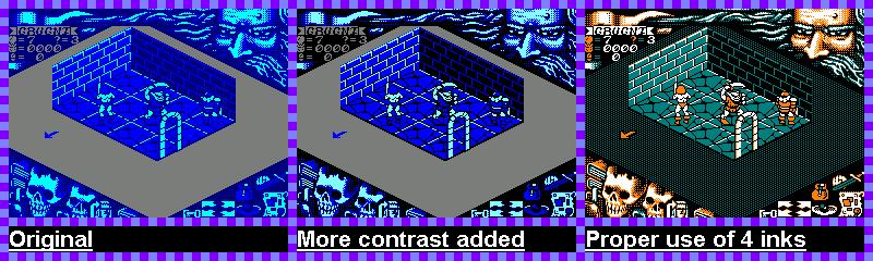 Hero Quest - Espada y brujería en Amstrad CPC 5
