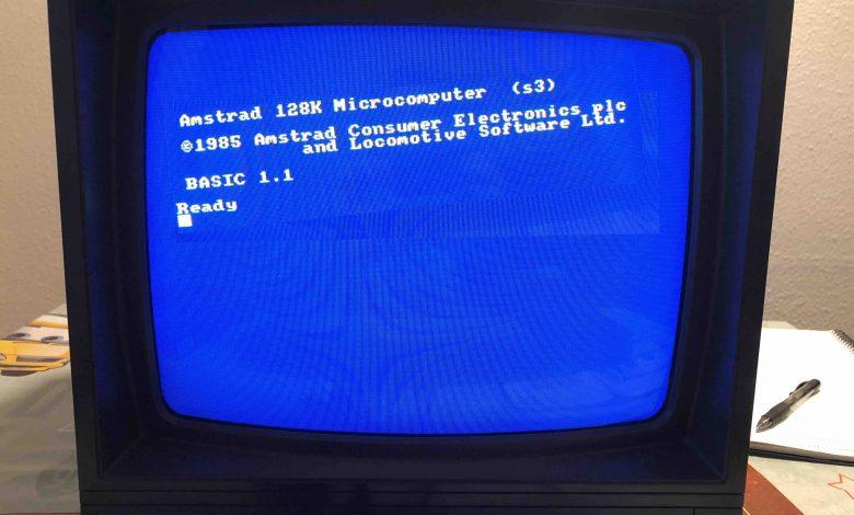 Calibrar la Imagen de un monitor Amstrad CTM 644 1