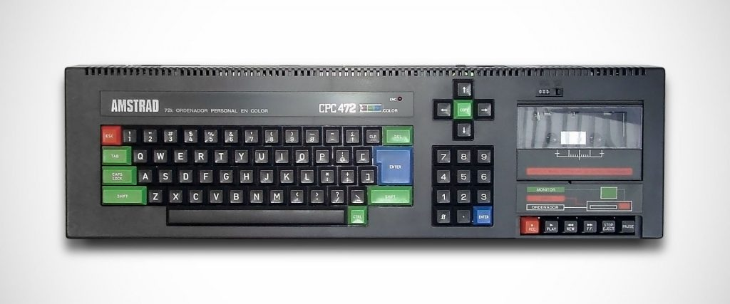The Amstrad CPC 472, an unusual case 9