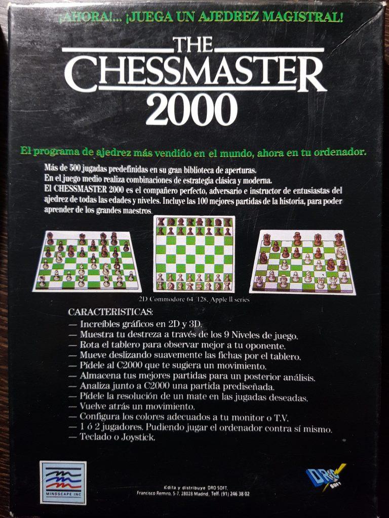 Chessmaster 2000: una leyenda del ajedrez 3