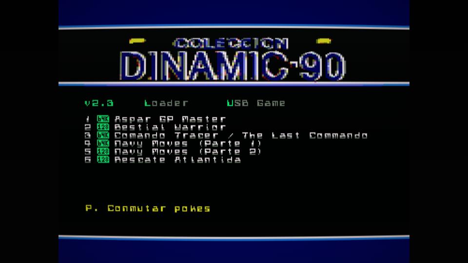 Colección de ROMS para Dandanator y DES 8