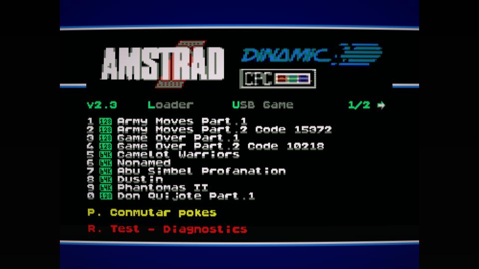 Colección de ROMS para Dandanator y DES 10
