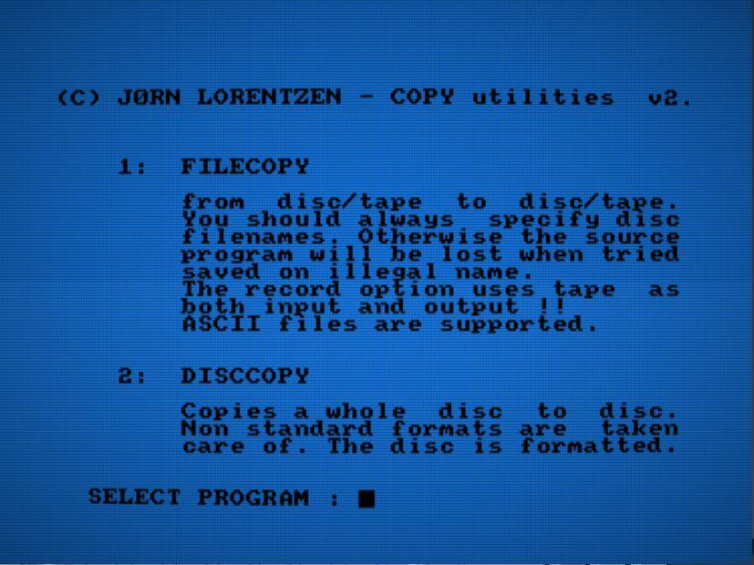 AUA Utilidades 2.1 - Nueva compilación de software para Amstrad 5