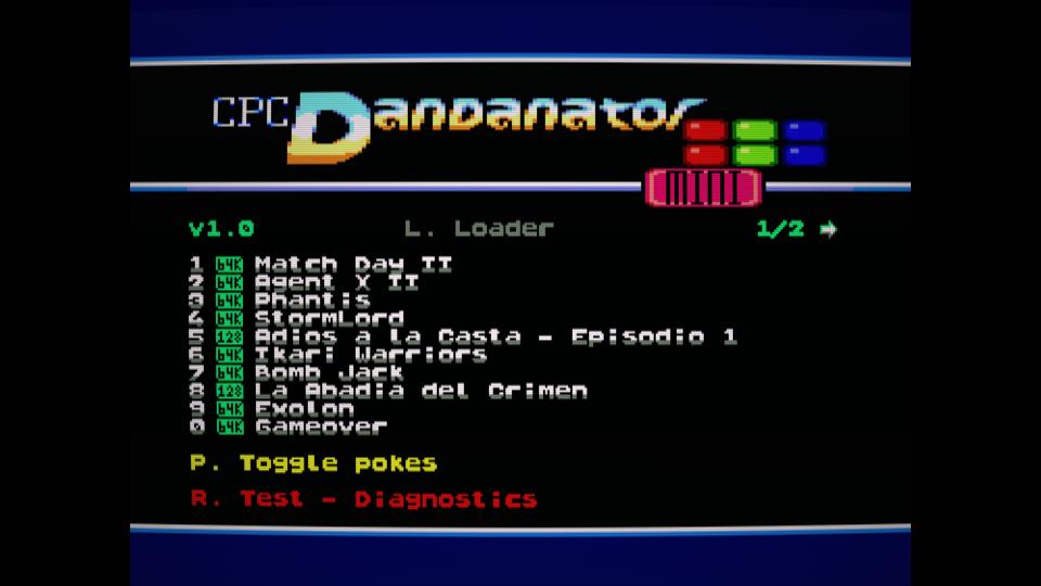 Colección de ROMS para Dandanator y DES 14