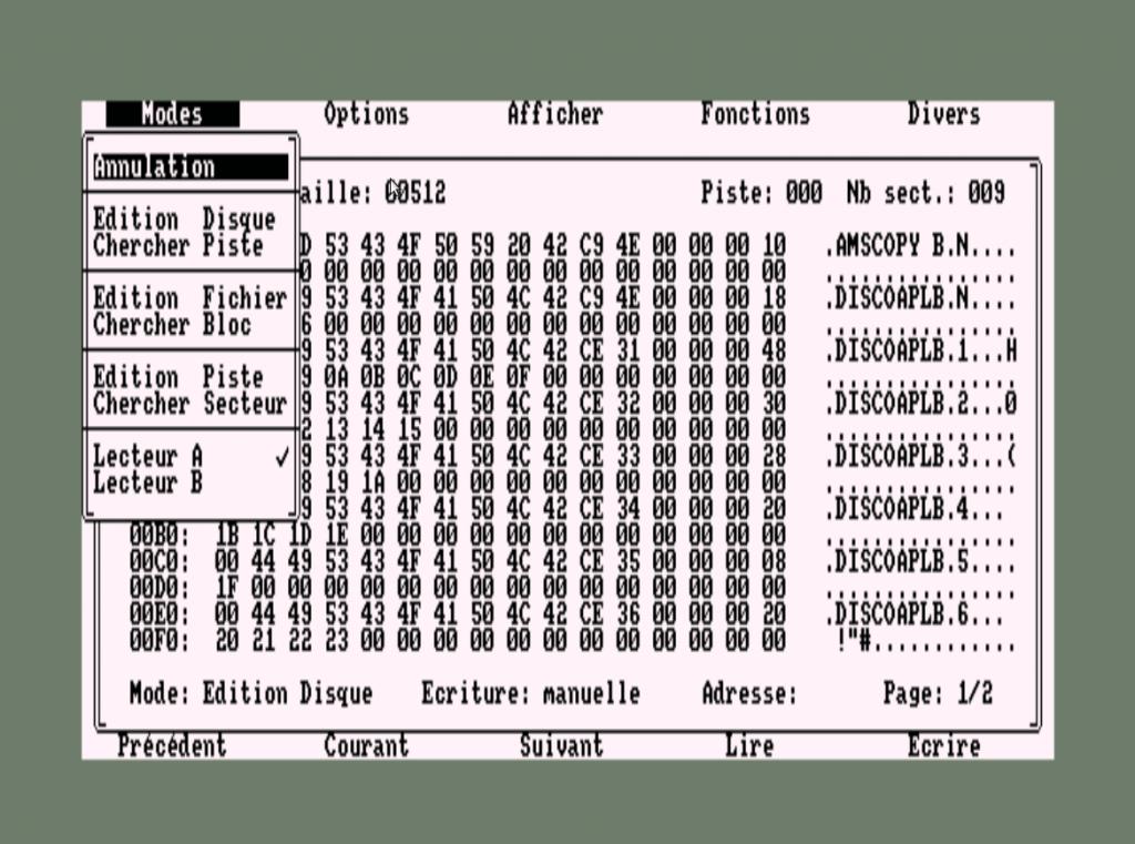Discology, el gran gestor de discos de Amstrad CPC 1